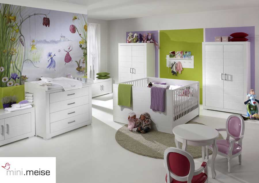 mini meise kinderwelt komplettes kinderzimmer zwillinge programm mini 01 5 ebay. Black Bedroom Furniture Sets. Home Design Ideas